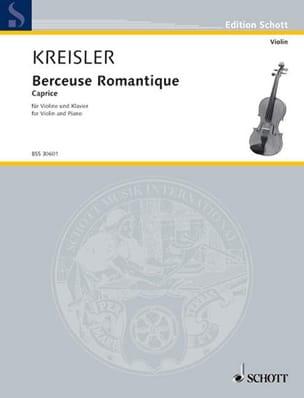 Berceuse romantique op. 9 - Fritz Kreisler - laflutedepan.com