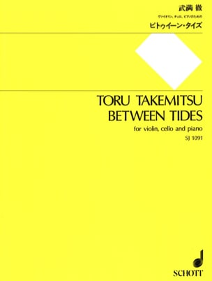 Between Tides - Toru Takemitsu - Partition - Trios - laflutedepan.com