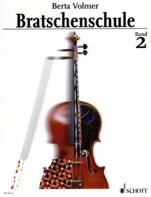 Bratschenschule Bd. 2 Berta Volmer Partition Alto - laflutedepan
