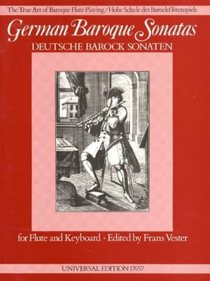 - German Baroque Sonatas - Flute and Piano - Sheet Music - di-arezzo.com
