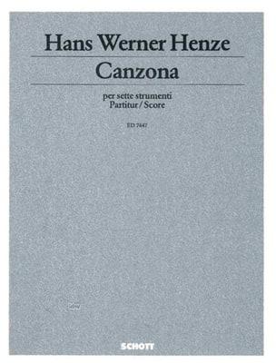 Canzona - 7 strumenti - Partitur - laflutedepan.com