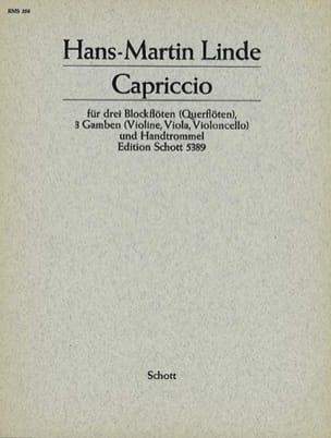 Capriccio -3 Blockflöten 3 Gamben Handtrommel - Partitur + Stimmen - laflutedepan.com