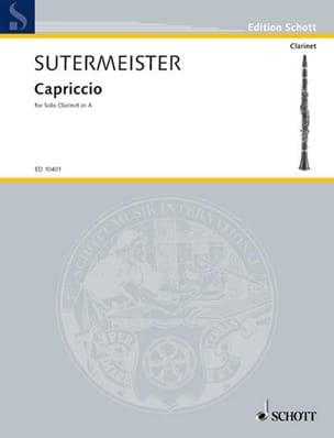 Heinrich Sutermeister - Capriccio - Partition - di-arezzo.fr