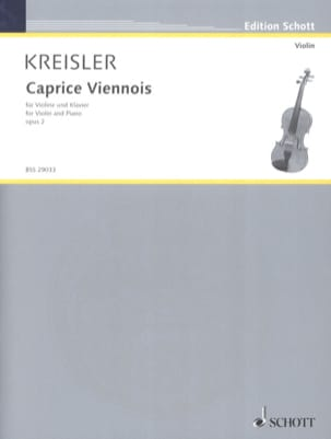 Fritz Kreisler - Viennese Caprice op. 2 - Sheet Music - di-arezzo.co.uk