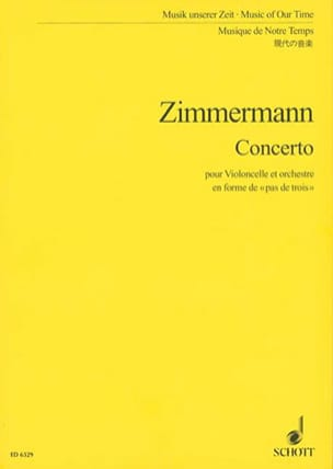 Concerto pour violoncelle - Partitur - laflutedepan.com