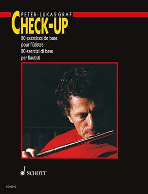 Peter-Lukas Graf - Check-Up - French-Italian Flute - Sheet Music - di-arezzo.co.uk