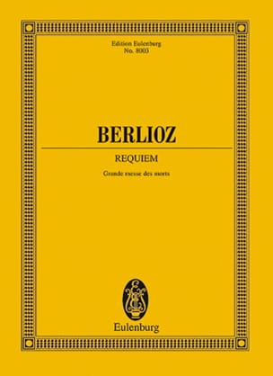 Requiem Grande messe des morts BERLIOZ Partition laflutedepan