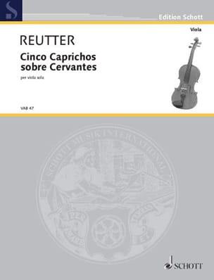 Cinco Caprichos sobre Cervantes Hermann Reutter Partition laflutedepan