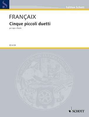 Cinque piccoli duetti - Arpa e flauto - laflutedepan.com