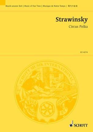 Circus Polka 1944 - Conducteur - Igor Stravinsky - laflutedepan.com