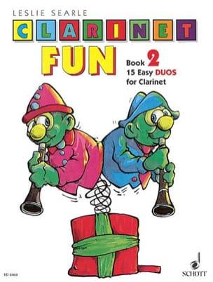 Clarinet Fun - Book 2 – Duos - Leslie Searle - laflutedepan.com
