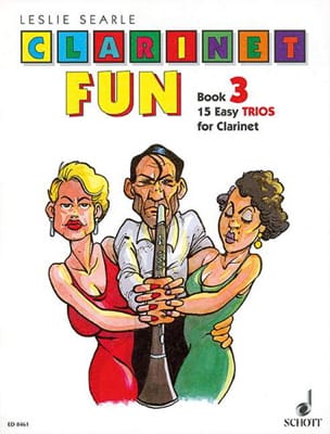 Clarinet Fun - Book 3 –Trios - Leslie Searle - laflutedepan.com