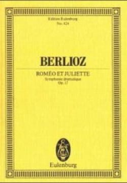 BERLIOZ - Romeo and Juliet Op. 17 - Sheet Music - di-arezzo.com