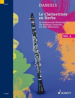 Le clarinettiste en herbe - Volume 2 François Daneels laflutedepan