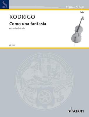 Como una Fantasia - Joaquín Rodrigo - Partition - laflutedepan.com