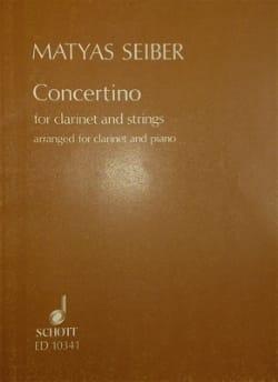 Mátyás Seiber - Concertino for clarinet - Sheet Music - di-arezzo.com