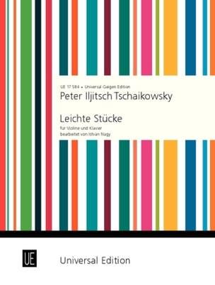 Piotr Illitch Tchaïkovski - Pièces Faciles - Partition - di-arezzo.fr