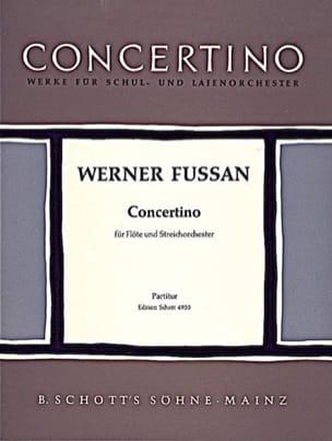 Concertino - Flöte und Streichorch. – Partitur - laflutedepan.com