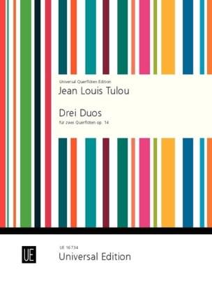 3 Duos op. 14 -2 Flöten - Jean-Louis Tulou - laflutedepan.com