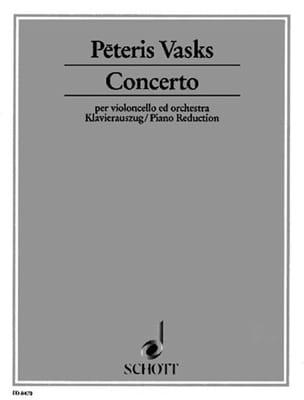 Concerto - Violoncelle - Peteris Vasks - Partition - laflutedepan.com