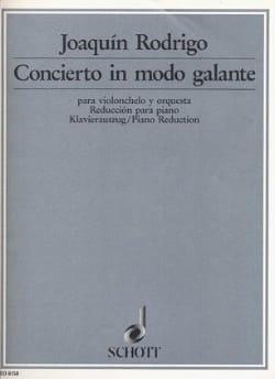 Concierto in modo galante (1949) – Violoncelle - laflutedepan.com