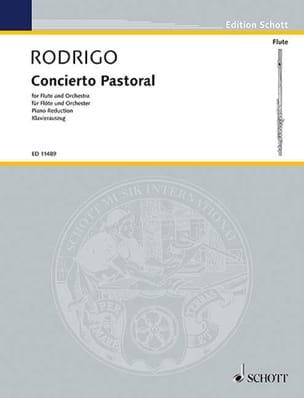 Joaquín Rodrigo - Concierto Pastoral - フルートクラヴィエ - 楽譜 - di-arezzo.jp