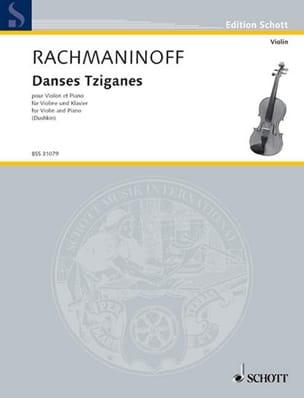 Serge Rachmaninov - Danses Tziganes - Partition - di-arezzo.fr