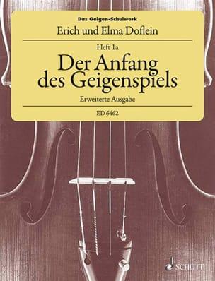 Doflein Elma / Doflein Erich - Das Geigen-Schulwerk, Heft 1A - Partition - di-arezzo.fr