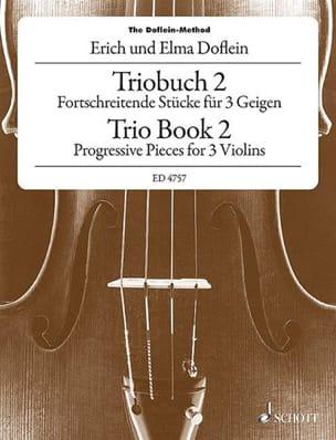 Fortschreitende Stücke für 3 Geigen, Bd. 2 laflutedepan