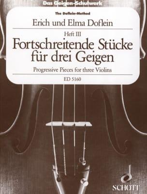Fortschreitende Stücke für 3 Geigen, Bd. 3 - laflutedepan.com