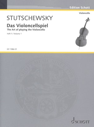Das Violoncellspiel - Bd. 1 - Joachim Stutschewsky - laflutedepan.com