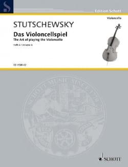 Das Violoncellspiel – Bd. 4 - Joachim Stutschewsky - laflutedepan.com