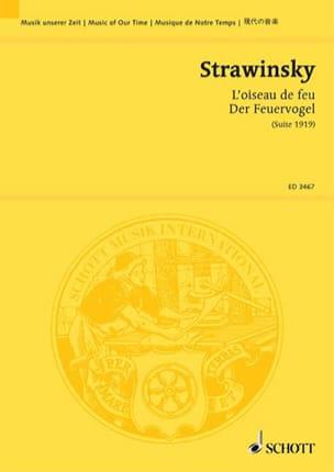 Igor Stravinsky - Fire Bird - Sheet Music - di-arezzo.com