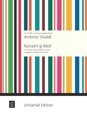 Antonio Vivaldi - Violin Concerto G minor RV 318 - Sheet Music - di-arezzo.co.uk