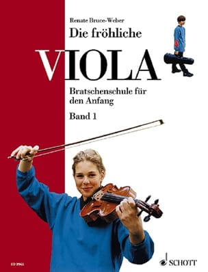 Die fröhliche Viola - Volume 1 Renate Bruce-Weber laflutedepan