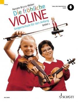 Renate Bruce-Weber - Die fröhliche Violine - Bd. 1 - Noten - di-arezzo.de