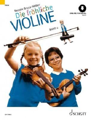Renate Bruce-Weber - Die fröhliche Violine – Bd. 2 - Partition - di-arezzo.fr