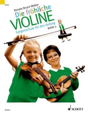 Renate Bruce-Weber - Die fröhliche Violine - Bd. 3 - Partition - di-arezzo.fr
