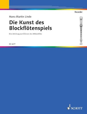 Hans-Martin Linde - Die Kunst of the Blockflöten Spiels - Sheet Music - di-arezzo.co.uk