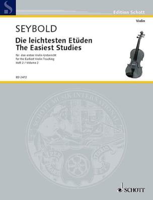 Arthur Seybold - Die leichtesten Etüden - Heft 2 - Sheet Music - di-arezzo.co.uk