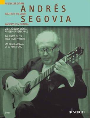 Andrés Segovia - Die schönste Stücke aus seinem Repertoire - Sheet Music - di-arezzo.co.uk