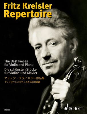 Fritz Kreisler - Fritz Kreisler Volume 1 Directory - Sheet Music - di-arezzo.co.uk