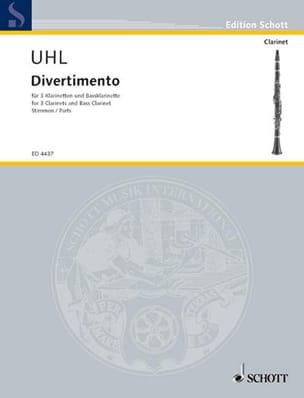 Alfred Uhl - Divertimento - スティメン - 楽譜 - di-arezzo.jp