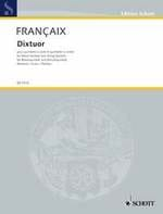 Jean Françaix - Dixtuor - Separate Parts - Sheet Music - di-arezzo.co.uk