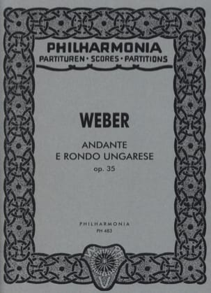 Carl Maria von Weber - Andante e Rondo Ungarese op. 35 - Sheet Music - di-arezzo.co.uk