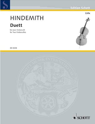 Paul Hindemith - Duett - 2 Cellos - Partition - di-arezzo.fr