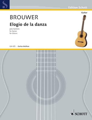 Leo Brouwer - Elogio of the danza - Sheet Music - di-arezzo.com