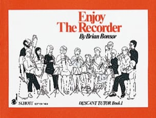 Brian Bonsor - Enjoy the recorder - 1 - Descant tutor - Partition - di-arezzo.fr