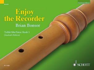 Brian Bonsor - Enjoy The Recorder 1 - treble Tutor - Sheet Music - di-arezzo.co.uk