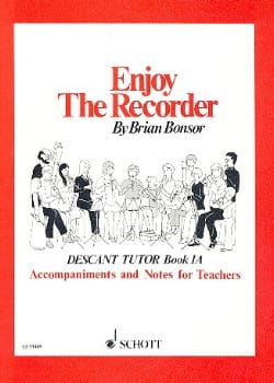 Brian Bonsor - Enjoy the recorder - 1A - Descant teacher - Partition - di-arezzo.fr